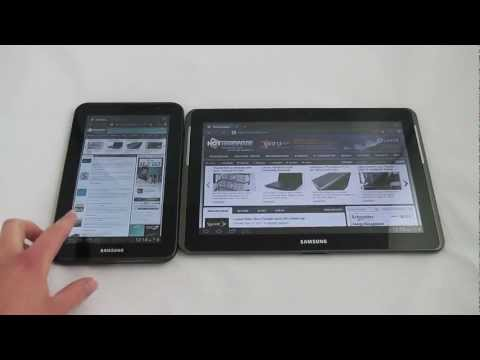 Samsung Galaxy Tab 2 10-inch and 7-inch Android Tablet Preview - HotHardware
