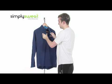 Nike Mens Element Half Zip Running Top-Blue - www.simplysweat.com
