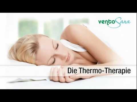 ventoSana ThermoTherapie Bettauflage heizend und kühlend mit Wasserkreislauf