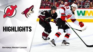 NHL Highlights   Devils @ Coyotes 12/14/19 by NHL