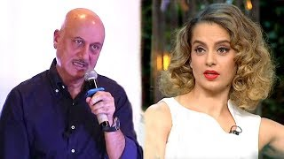 Video Anupam Kher OPENLY Insults Kangana Ranaut's NEPOTISM Comment In Public MP3, 3GP, MP4, WEBM, AVI, FLV Oktober 2017