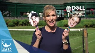 See how well Rajeev Ram, Bjorn Fratangelo and Denis Kudla perform in this trivia contest about Andy Roddick and Kim Clijster, two of this year's inductees to the Tennis Hall of Fame. Video courtesy: Dell Technologies Hall of Fame Open