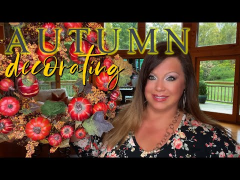 Fall Decorating In The Family Room // New Sectional Sneak Peek // Kitchen And Flooring UPDATE!