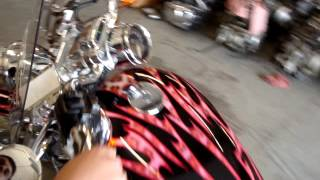9. 2007 Harley Davidson Sportster XL883 Custom