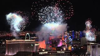 2015 New Year's Eve Fireworks at Las Vegas