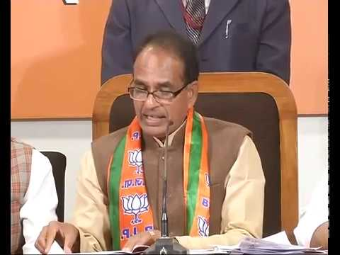 Press Conference by Shri Shivraj Singh Chouhan in Lucknow, Uttar Pradesh : 13.02.2017