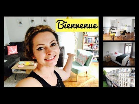 MY 1300€/$1500 PARIS APARTMENT TOUR 2018|Minimalist apartment Paris