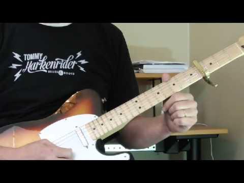 Gatemouth Brown Guitar Lick - April 2015