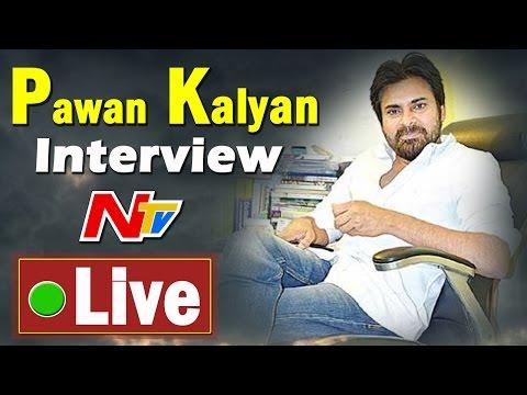 Pawan Kalyan Exclusive Interview on AP Special Status   Live    NTV (видео)
