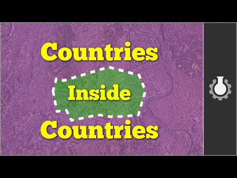 Countries inside Countries: Bizarre Borders Part 1