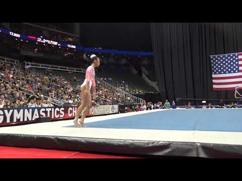 Kailin Chio – Floor Exercise – 2019 U.S. Gymnastics Championships – Junior Women Day 2