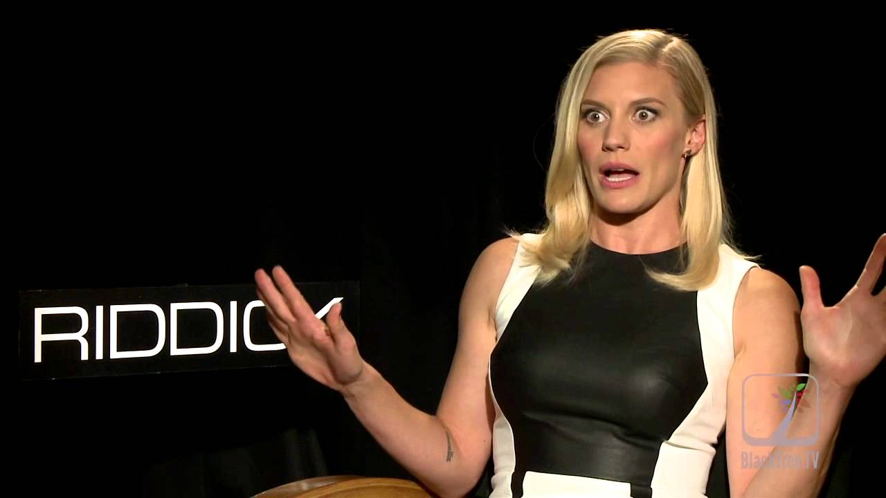 Katee Sackhoff had to muscle up for RIDDICK