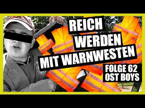 REICH WERDEN MIT WARNWESTEN 62. FOLGE OST BOYS