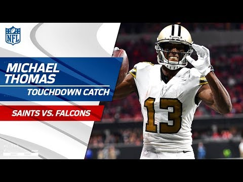 Video: Chris Banjo's INT Sets Up Drew Brees' TD Pass to Michael Thomas! | Saints vs. Falcons | NFL Wk 14