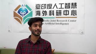 印度學生羅翰特在中正的學習經驗