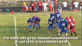 Columbus Junction (IA) United States  city images : Columbus Junction vs Comanche Alumni Football USA Highlights 7/16/11