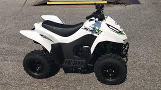 2. 2017 Kawasaki KFX50