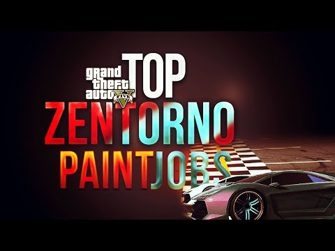 "GTA 5 Online – Zentorno ""Paint Jobs"" BEST of Custom Paint Jobs w/ Zentorno! (GTA V High Life Update)"