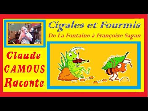 De La Fontaine à Françoise Sagan « Claude Camous Raconte »  la revanche de la Cigale