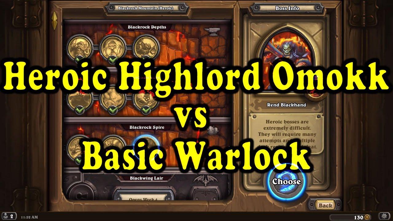 hearthstone blackrock schwarzfelstiefen heroic guide deck