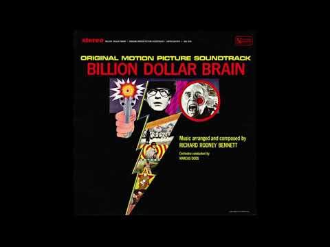 Richard Rodney Bennett - Billion Dollar Brain (Full Album) (Soundtrack) (1967)