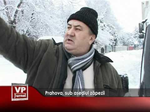 Prahova, sub asediul zăpezii