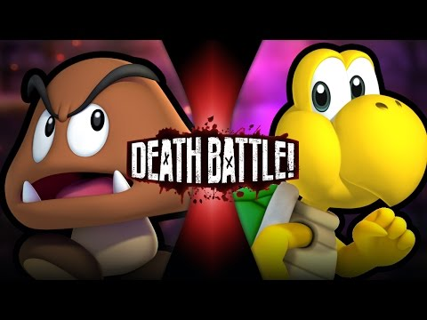 DEATH BATTLE! - Goomba VS Koopa Video