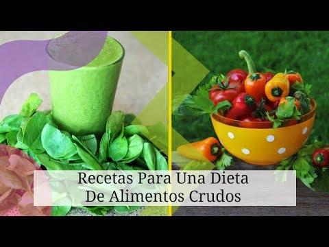 Dietas para adelgazar - Recetas Para Una Dieta De Alimentos Crudos