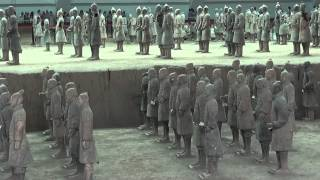 The Terracotta Warriors 兵马俑 of the Qin dynasty