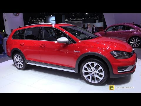 volkswagen golf sportwagen alltrack - exterior and interior walkaround