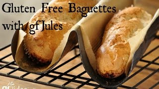 How to Make Easy Gluten Free Baguettes