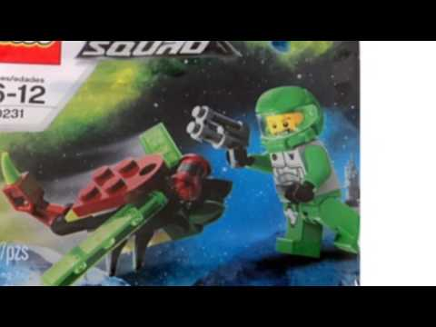 Video Awesome product video released on YouTube for the 30231 Galaxy Squad Insectoid