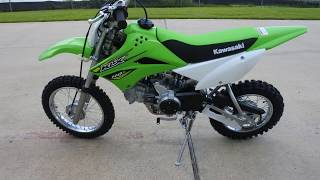 4. $2,499:  2018 Kawasaki KLX110L Dirt Bike Overview and Review
