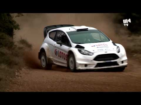 Robert Kubica - Rally Mexico 2014 tests