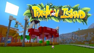 START OF MY POKEMON ADVENTURE! PIXELMON ISLAND SMP #1