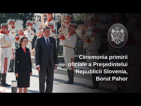 """Președintele Maia Sandu: """"Vizita Președintelui Republicii Slovenia este pentru a transmite un semnal de sprijin pentru agenda noastră ambițioasă de reforme"""""""