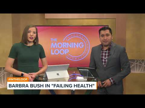 Barbara Bush in Apparent