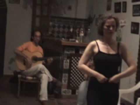 Status profundos - Seguiriya - Primer ensayo - first rehearsal