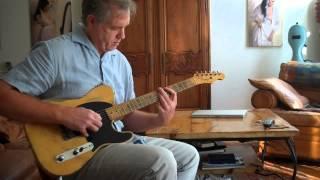 Video 1953 Vintage Fender Esquire | Telecaster Guitar Video 2 played by Mark Lovett  marklovett.com MP3, 3GP, MP4, WEBM, AVI, FLV Juni 2018