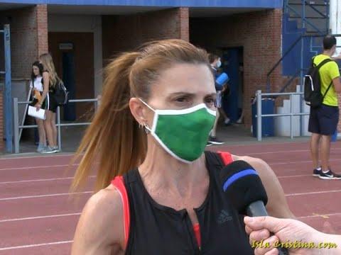 Entrevista a Elena Cobos (Club Deportivo de Atletismo Isla Cristina)