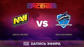Natus Vincere vs Vega Squadron, EPICENTER EU, game 2 [V1lat, Faker]