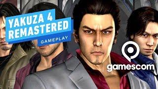 5 Minutes of Yakuza 4 Remastered Gameplay - Gamescom 2019 by IGN