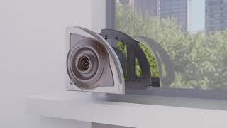 Extremely Quiet Air Filtration System Balanced Ventilation, Balanced Air Solution, Long Lasting youtube video