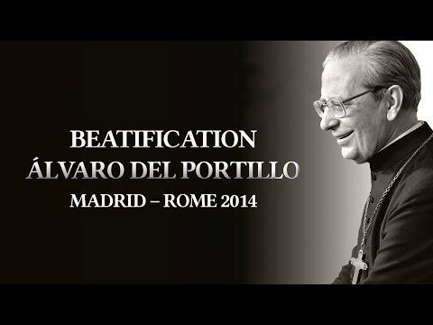 Vidéo-résumé de la Béatification d'Alvaro del Portillo