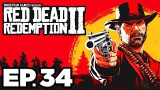 Red Dead Redemption 2 Ep.34 - THE NEW SOUTH, FISHING w/ THE BOYS, PEARSON LETTER (Gameplay Lets Play