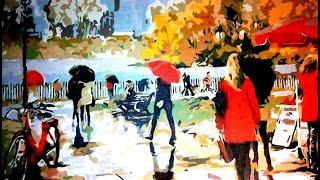 Картины по номерам. Рисование по номерам. Раскраски по номерам.  Создай шедевр своими руками. Осень