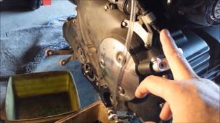 8. Triumph Rocket 3 Radiator and Clutch Removal (Part1)