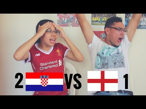 Reacción Croacia Vs Inglaterra (2-1) 11/07/ 2018 Copa del mundo 2018