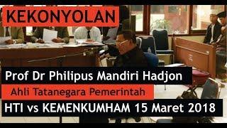 Download Video Inilah KEKONYOLAN Ahli Tatanegara Pemerintah dalam Persidangan HTI vs KEMENKUMHAM 15 Maret 2018 MP3 3GP MP4