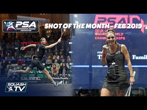 Squash: Shot of the Month - February 2019